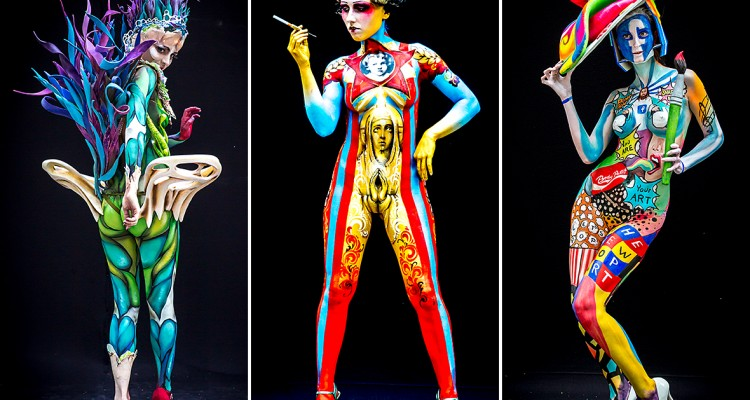 There S A World Body Painting Festival And It S Epic Sherpa Land